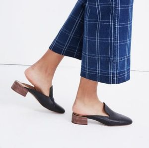 Madewell Willa Mule Loafer Black Slip On Leather